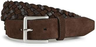 Reiss RICHARD Leather woven belt