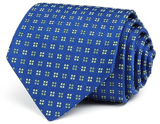Turnbull & Asser Neat Squares Classic Tie $195 thestylecure.com