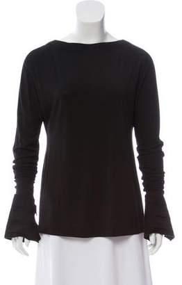 Marie Saint Pierre Asymmetrical Long Sleeve Top
