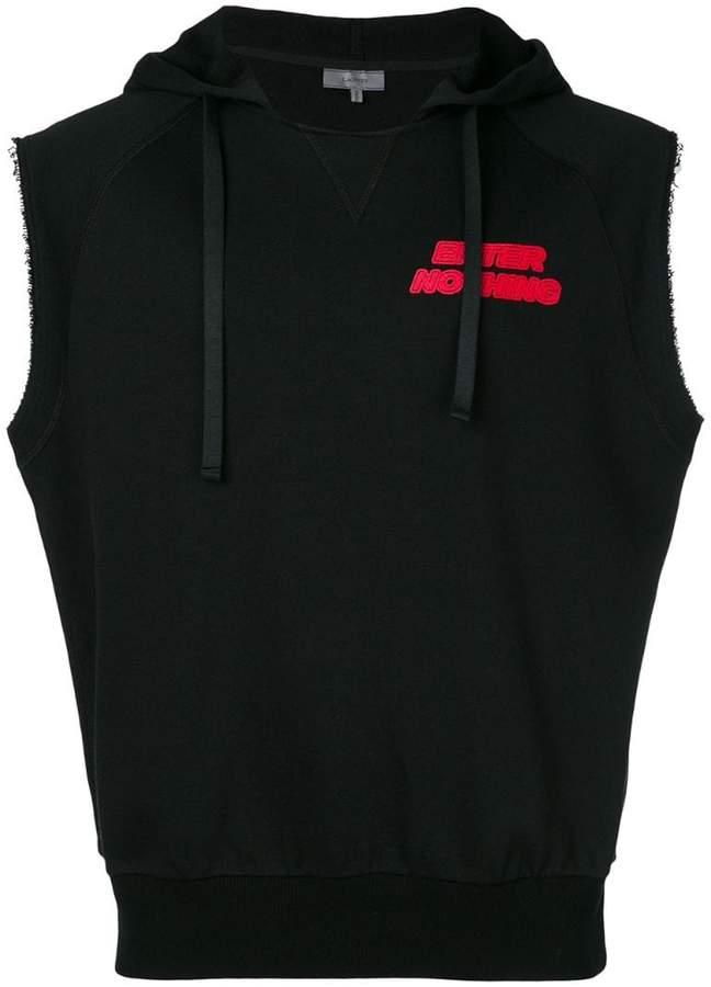 Lanvin Enter Nothing sleeveless hoodie