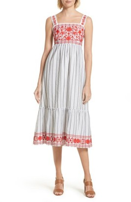 Women's Kate Spade New York Embroidered Sundress $328 thestylecure.com