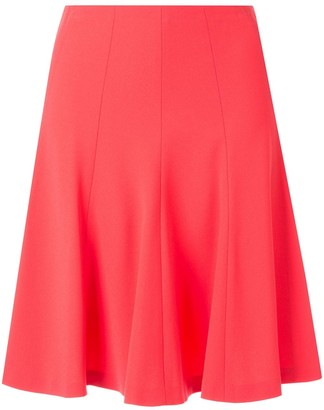 Paule Ka flared mini skirt