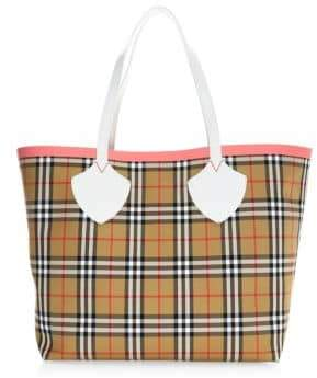 Burberry Giant Check Tote