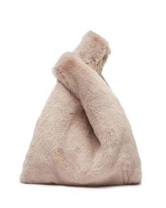 Hayward Mini Shopper Faux-Fur Top Handle Bag