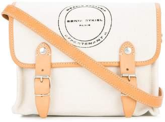 Sonia Rykiel logo box crossbody bag