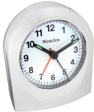 Westclox Clocks Westclox 47312b Bedside Analog Alarm Clock (white)