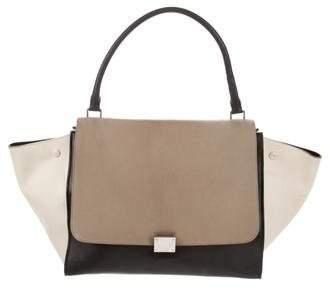 Celine Large Tricolor Trapeze Bag