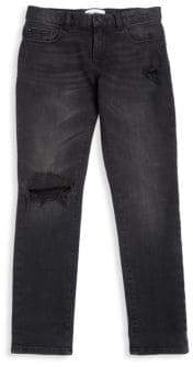 DL Premium Denim Little Boy's Zane Super Skinny Jeans