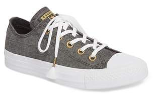 Converse Chuck Taylor(R) All Star(R) Washed Linen Low Top Sneaker