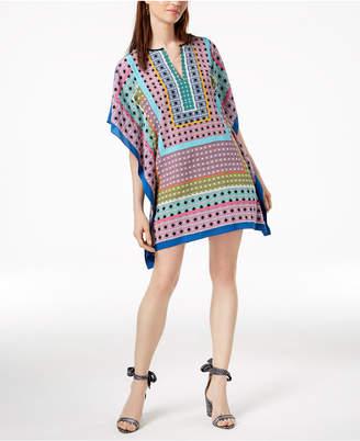 Trina Turk Theodora Silk Kaftan Dress