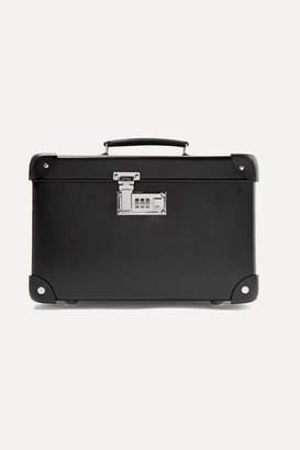 Globe-trotter Centenary 13'' Leather-trimmed Fiberboard Vanity Case - Black