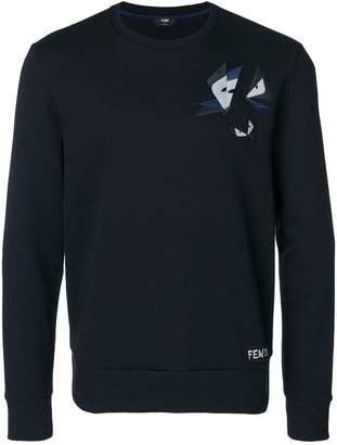 Fendi appliqué sweatshirt