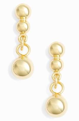 Argentovivo Small Beaded Drop Earrings