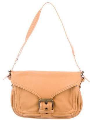 Marc Jacobs Leather Buckle Flap Bag
