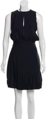 Stella McCartney Open Back Bubble Dress Black Open Back Bubble Dress