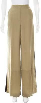Robert Rodriguez High-Rise Silk Pants