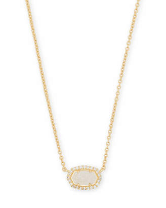 Kendra Scott Chelsea Pendant Necklace in Gold