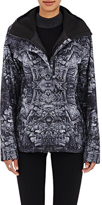 The North Face Women's Abstract-Print Tech-Fabric Hooded Rain Shell $700 thestylecure.com