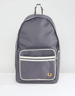 Fred Perry Twin Tipped Back Pack In Grey