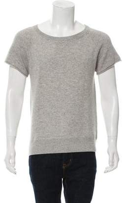 Michael Kors Short Sleeve Cashmere Sweater