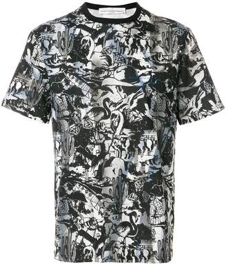 Golden Goose printed fitted T-shirt