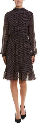 AVEC LES FILLES Printed Dress
