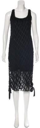 Atelier Twilley Sleeveless Fringe Dress w/ Tags