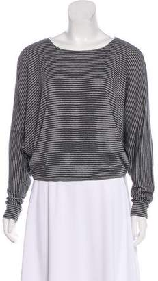 L'Agence Long Sleeve Striped Top