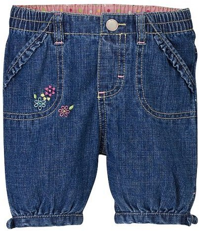Newborn Girls' Genuine Kids from OshKosh™ Denim Capri Pants