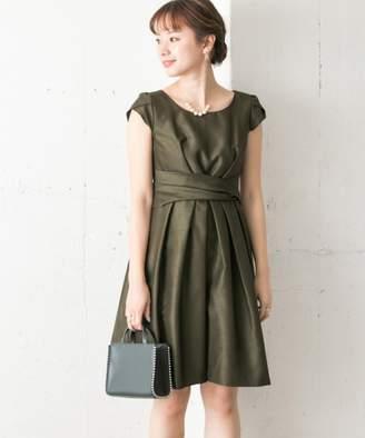 Couture MAISON ウエストクロスワンピース