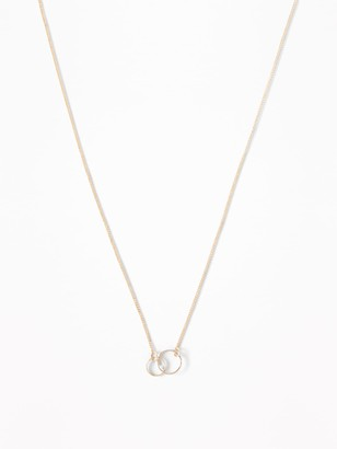 Old Navy Circle-Pendant Chain Necklace For Women