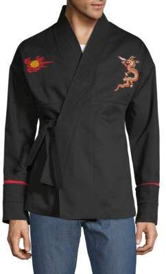 Valentino Dragon Cotton Jacket