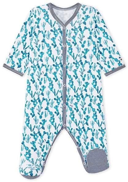 Baby Boys Cactus-Print 1-Piece Pajama