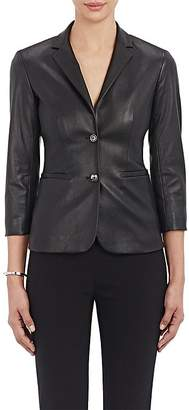 The Row Women's Essentials Nolbon Leather Jacket