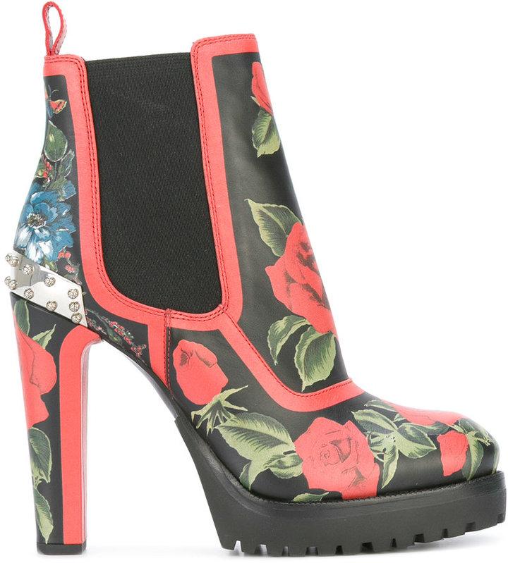 Alexander McQueenAlexander McQueen hobnail boots