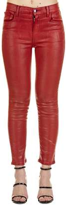 J Brand Ruby Coated Jeans