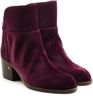 Laurence Dacade Velvet Ankle Boots