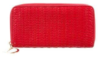 Christian Dior Leather Zip-around Wallet