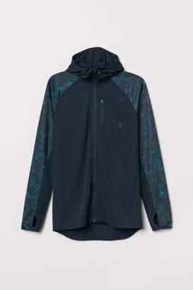 H&M Hooded Running Jacket - Blue