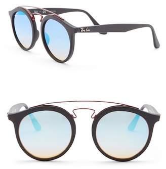 Ray-Ban 49mm Phantos Aviator Sunglasses