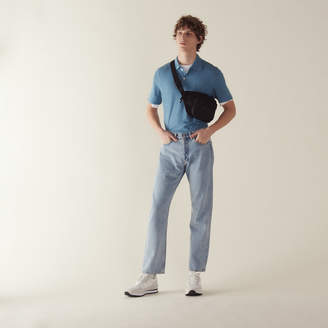 Sandro Straight-Cut Vintage Blue Jeans