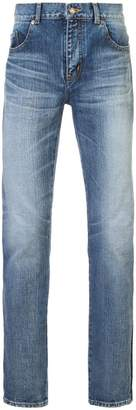 Saint Laurent classic fitted jeans