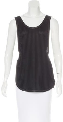 3.1 Phillip Lim 3.1 Phillip Lim Rib Knit Sleeveless Top