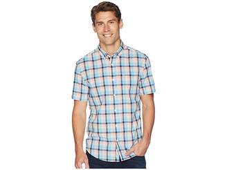 Original Penguin Short Sleeve Stretch P55 Plaid