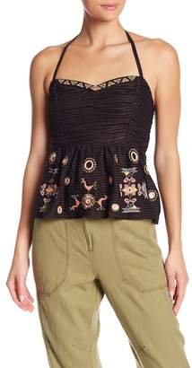 Free People Sweet Safari Halter Top
