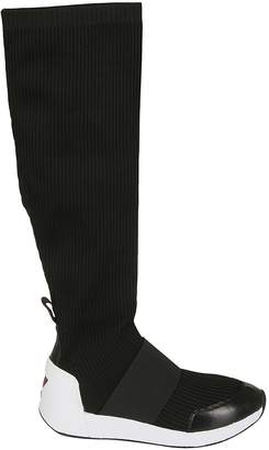 Ash Jezebel Knit Knee-high Boots