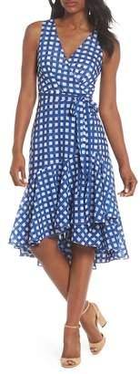 Eliza J Ruffle High/Low Dress (Regular & Petite)
