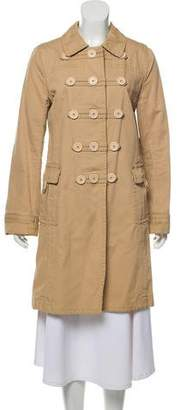 Marc by Marc Jacobs Double-Breasted Knee-Length Coat