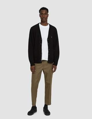 Obey Court II Cardigan Sweater in Black