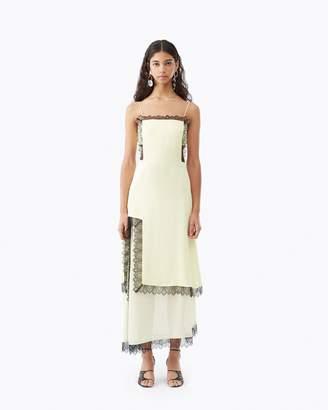 3.1 Phillip Lim Square Front Dress With Slit